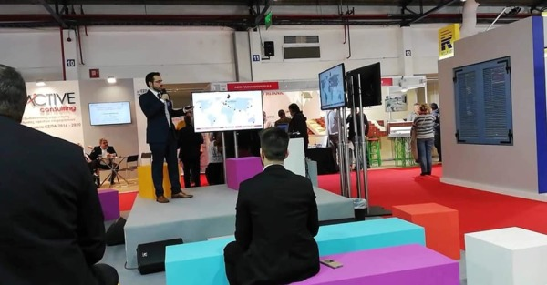 Presentation of Geomiso software at Infacoma & Aquatherm Athens 2019